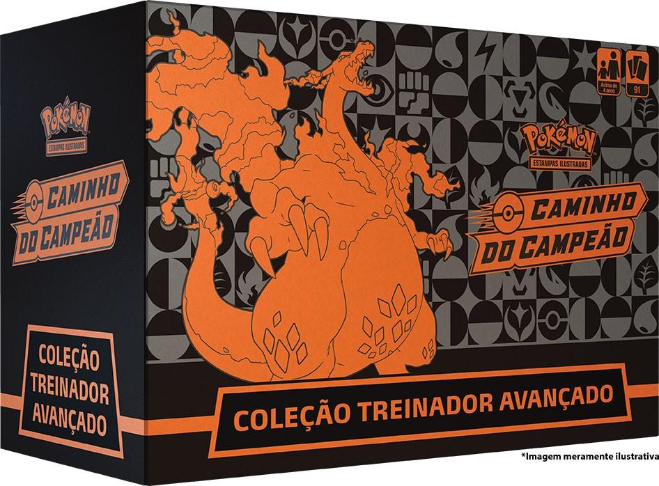 Coleção Treinador Avançado - Elite Trainer Box - Caminho do Campeão - Charizard