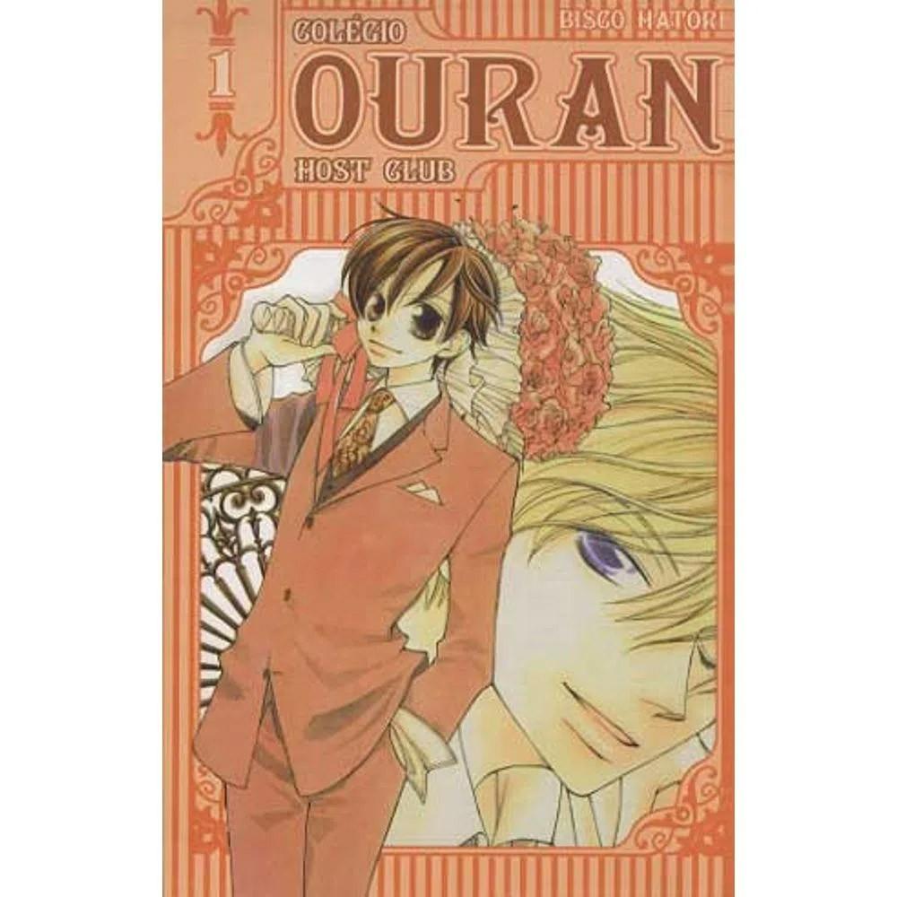 Colégio Ouran Host Club - Volume 01 - Usado