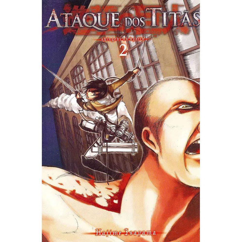 Ataque dos Titãs / Shingeki no Kyojin - Volume 02