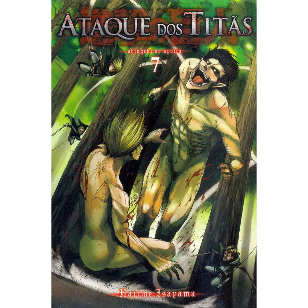 Ataque dos Titãs / Shingeki no Kyojin - Volume 07 - Usado