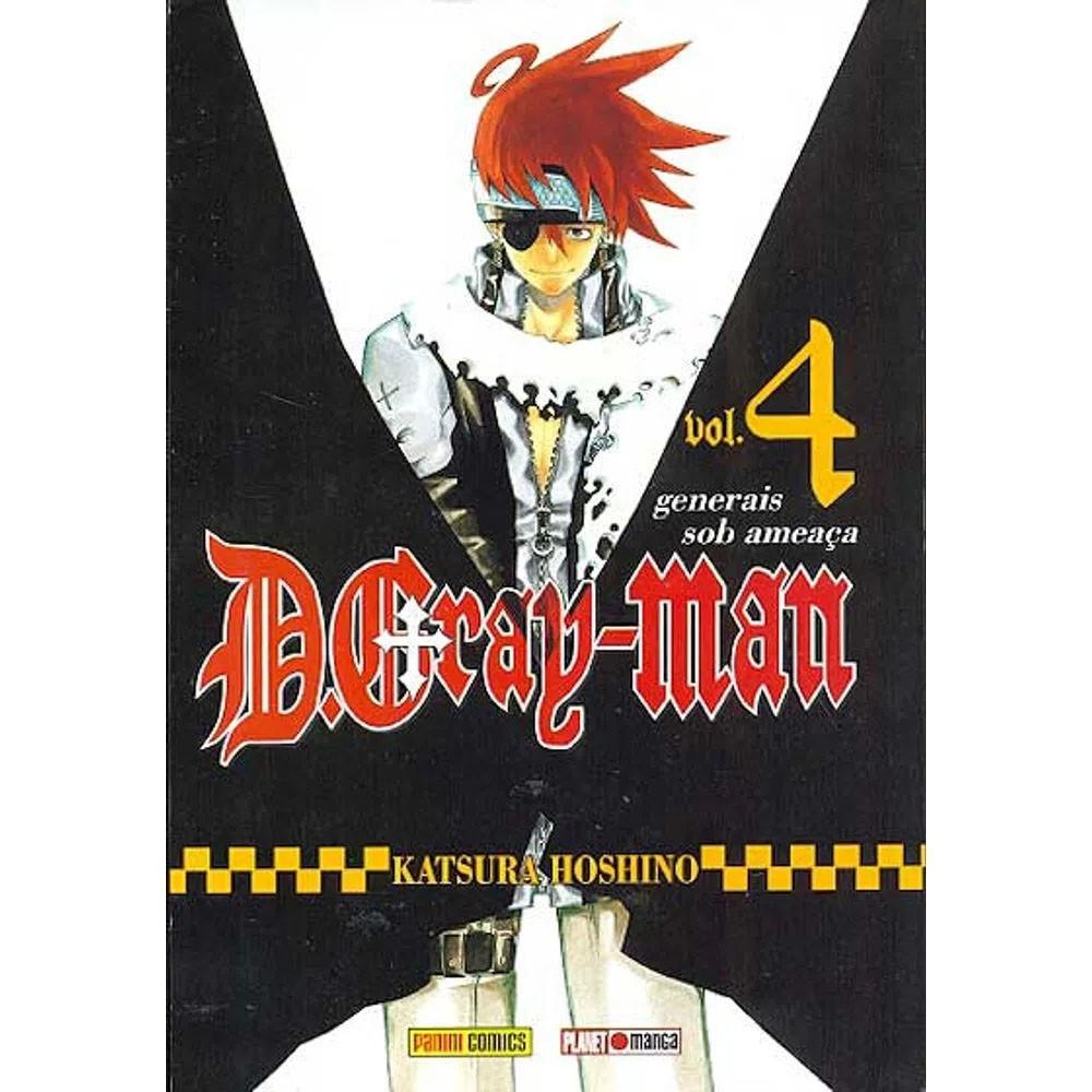 D.Gray-Man - Volume 04  - Usado