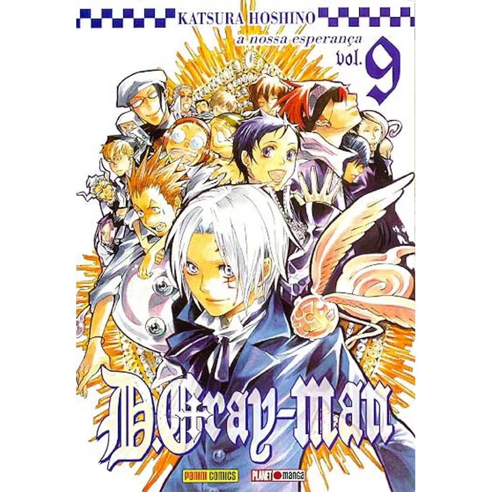 D.Gray-Man - Volume 09 - Usado