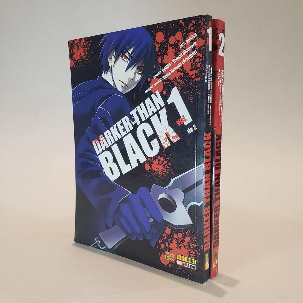 Darker Than Black - 1 e 2 - Coleção Completa - Pack
