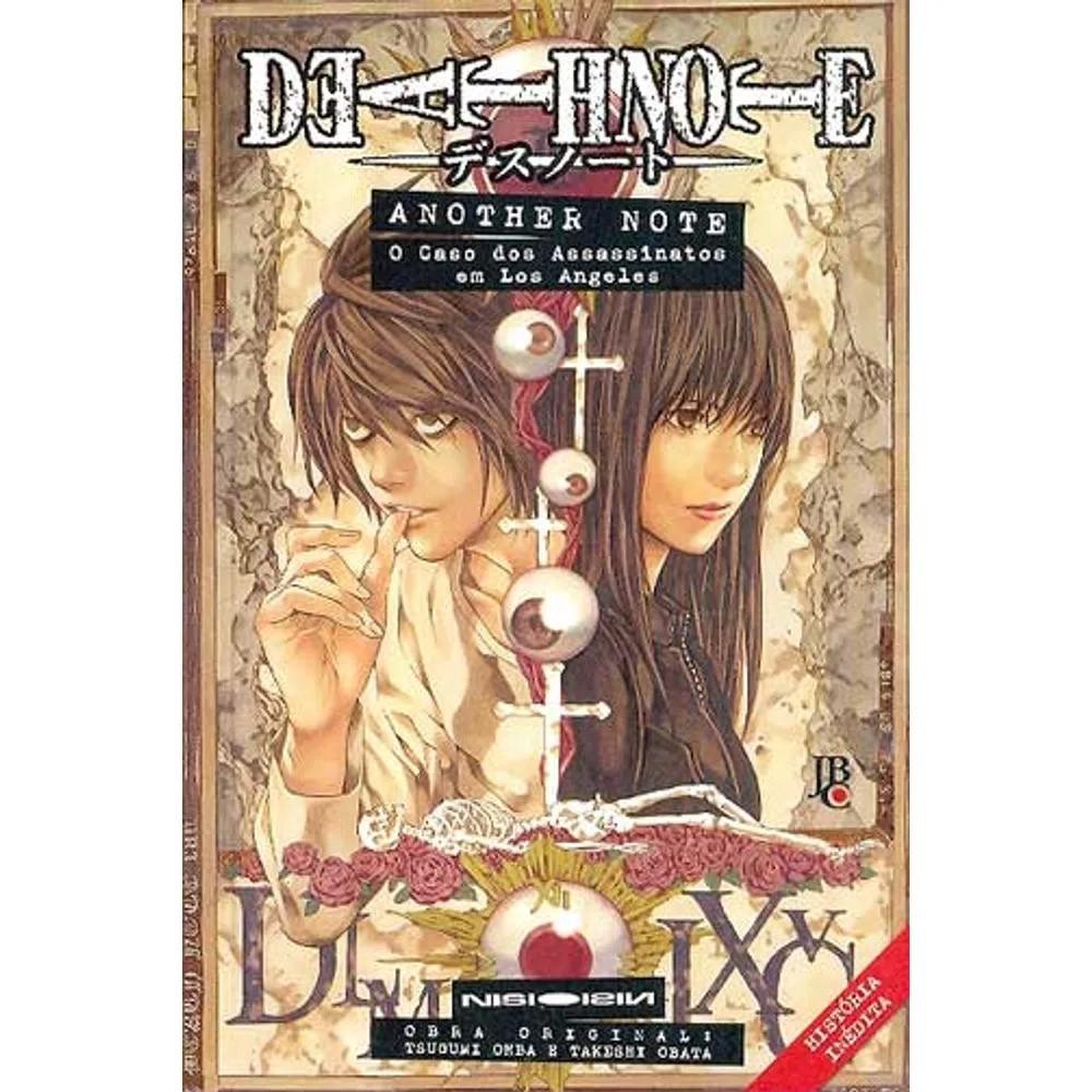 Death Note - Another Note: O Caso dos Assassinatos em Los Angeles - Volume Único - Novel - Usado