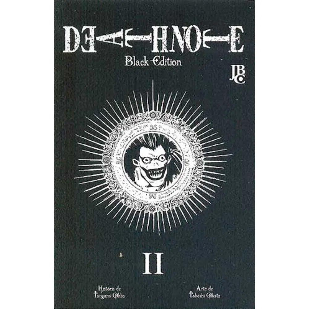 Death Note Black Edition - Volume 02 - Usado