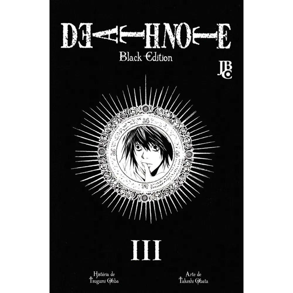 Death Note Black Edition - Volume 03 - Usado