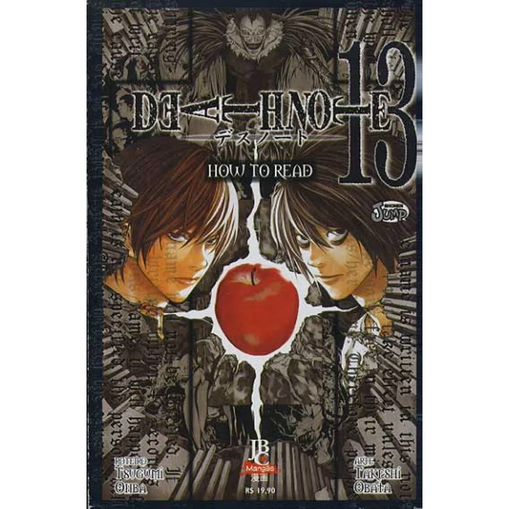 Death Note - Volume 13 - How To Read - Usado