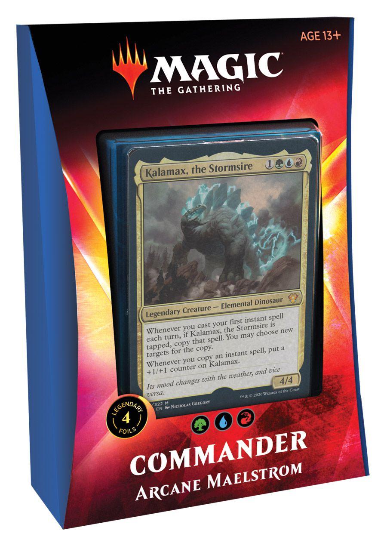 Deck Commander 2020 Ikoria - Arcane Maelstrom / Maelstrom Arcano