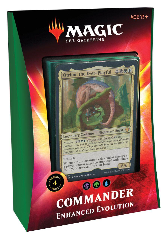 Deck Commander 2020 Ikoria - Enhanced Evolution / Evolução Aprimorada