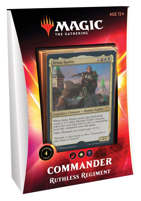 Deck Commander 2020 Ikoria - Ruthless Regiment / Regimento Impiedoso