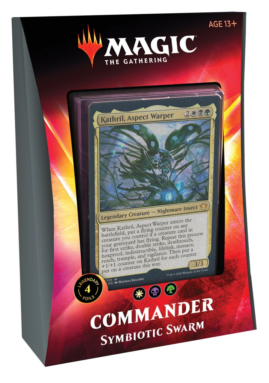 Deck Commander 2020 Ikoria - Symbiotic Swarm / Enxame Simbiótico