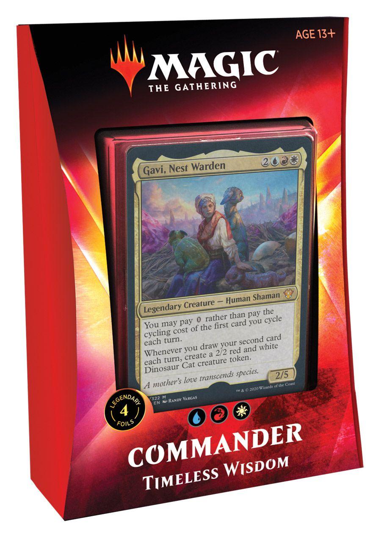 Deck Commander 2020 Ikoria - Timeless Wisdom / Sabedoria Eterna