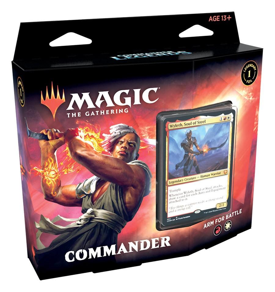 Deck Commander Arm For Battle / Arme-se Para a Batalha - Commander Legends EN