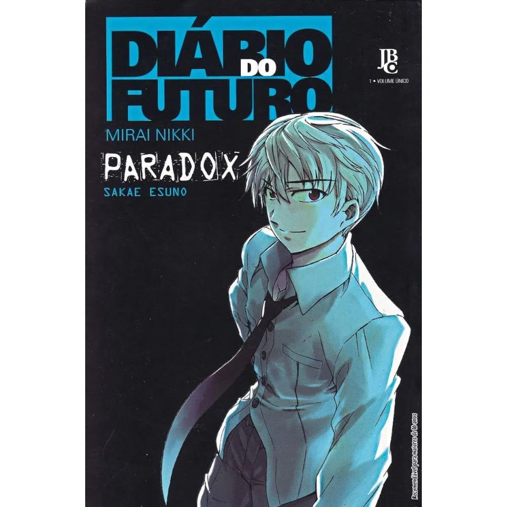 Diário do Futuro / Mirai Nikki - Paradox - Volume Único - Usado