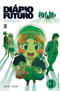 Diário do Futuro (Mirai Nikki) - Volume 03 - Usado