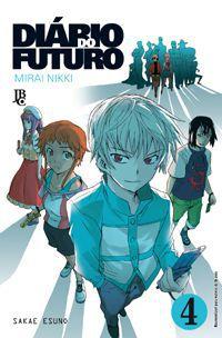 Diário do Futuro (Mirai Nikki) - Volume 04 - Usado