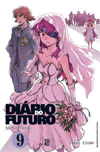 Diário do Futuro (Mirai Nikki) - Volume 09 - Usado