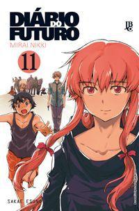 Diário do Futuro (Mirai Nikki) - Volume 11 - Usado