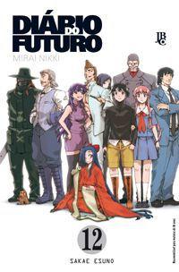 Diário do Futuro (Mirai Nikki) - Volume 12 - Usado