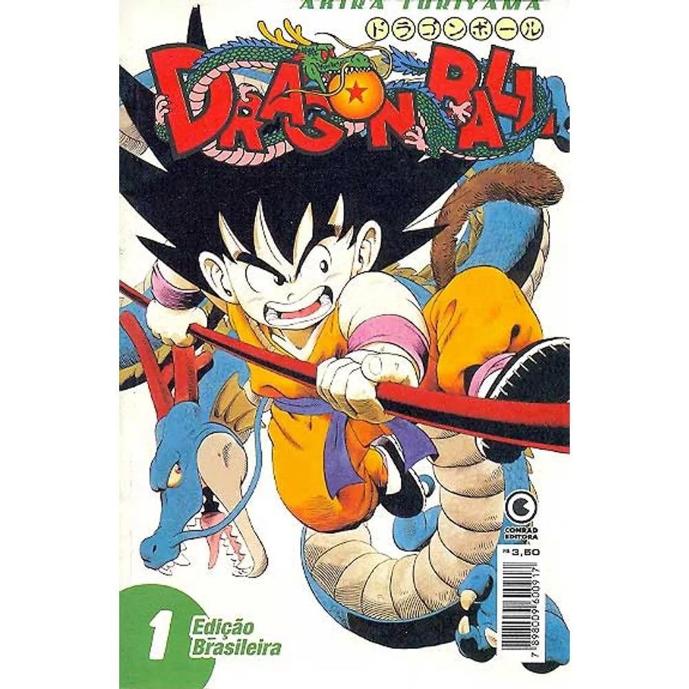 Dragon Ball - 1ª Edição - Volume 01 - Usado