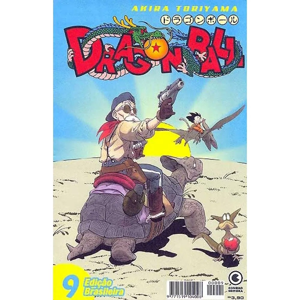 Dragon Ball - 1ª Edição - Volume 09 - Usado