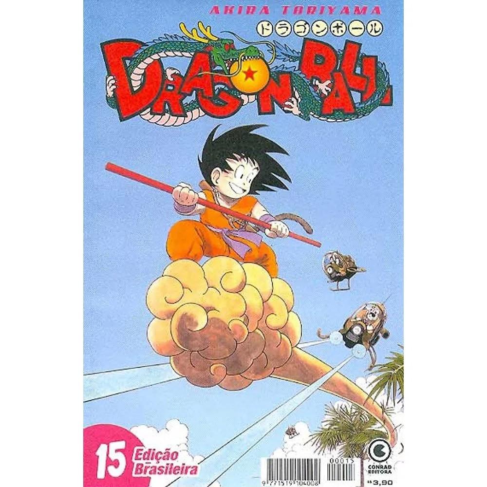 Dragon Ball - 1ª Edição - Volume 15 - Usado