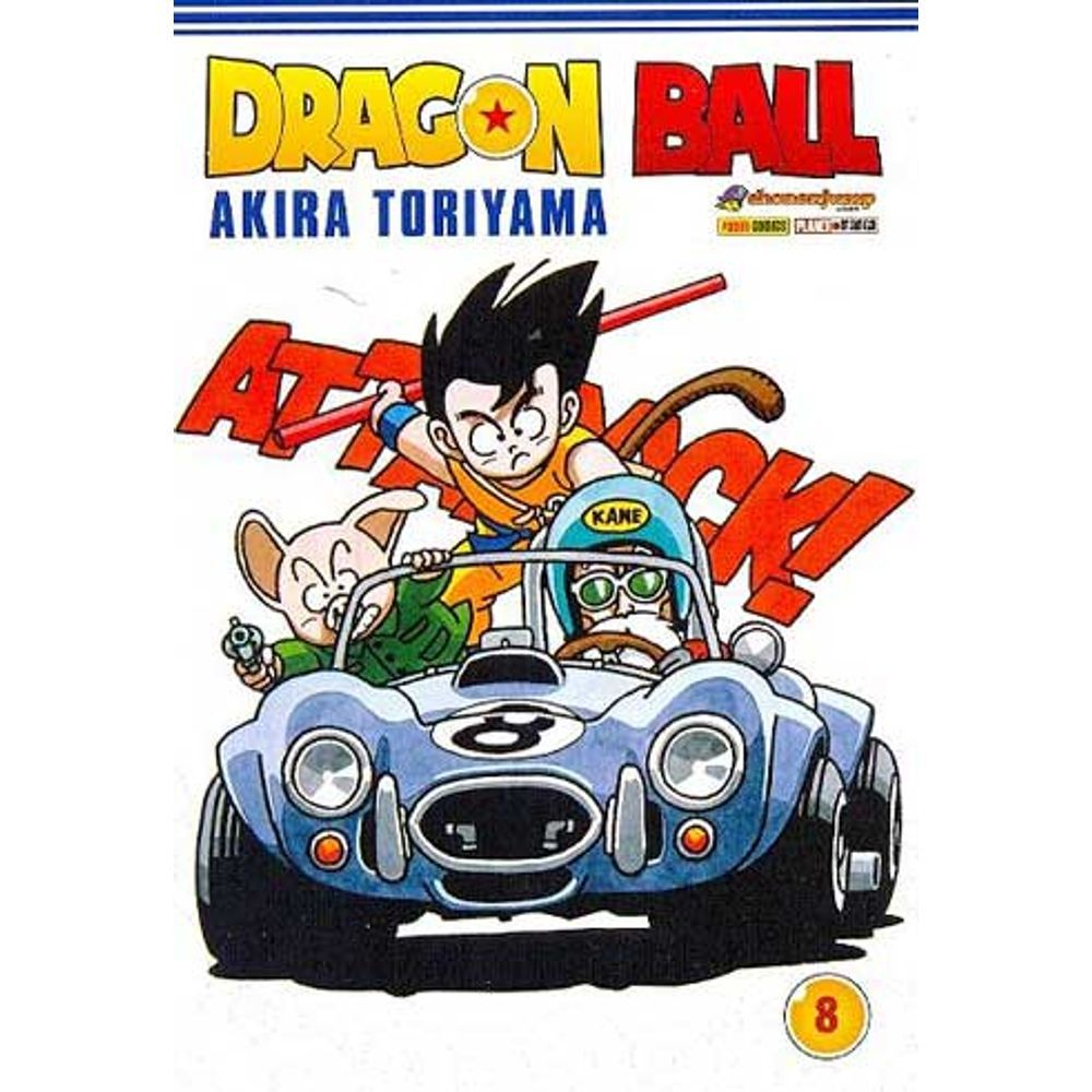 Dragon Ball - Volume 08 - Usado