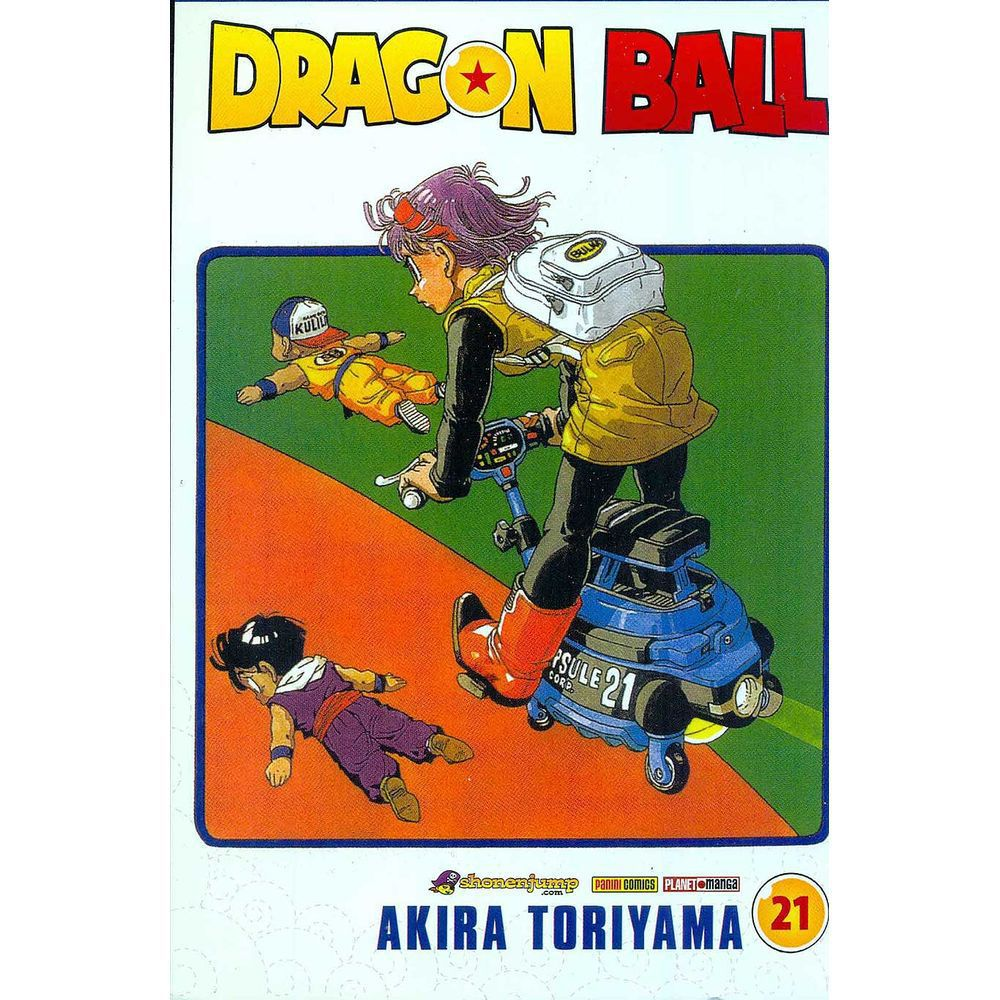 Dragon Ball - Volume 21 - Usado