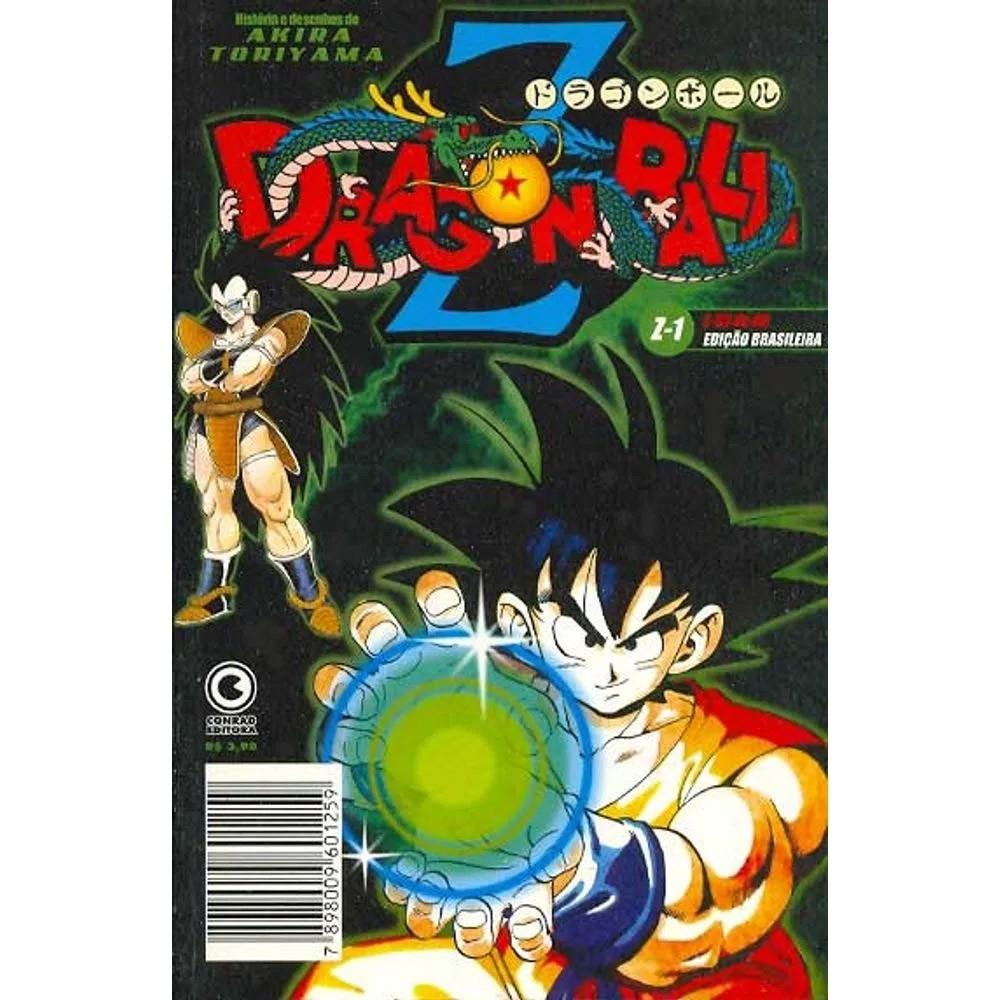 Dragon Ball Z - 1ª Edição - Volume 01 - Usado