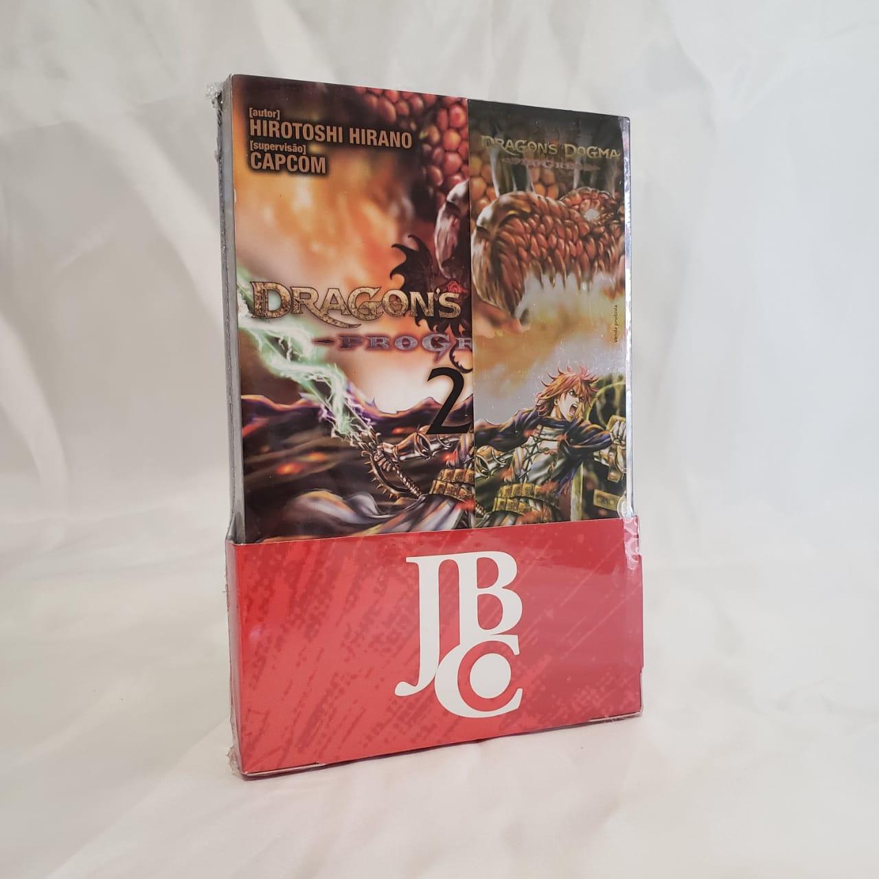 Dragon's Dogma Progress - 1 e 2 - Coleção Completa - Box
