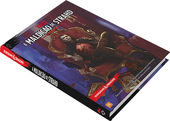 Dungeons & Dragons D&D - A Maldição de Strahd