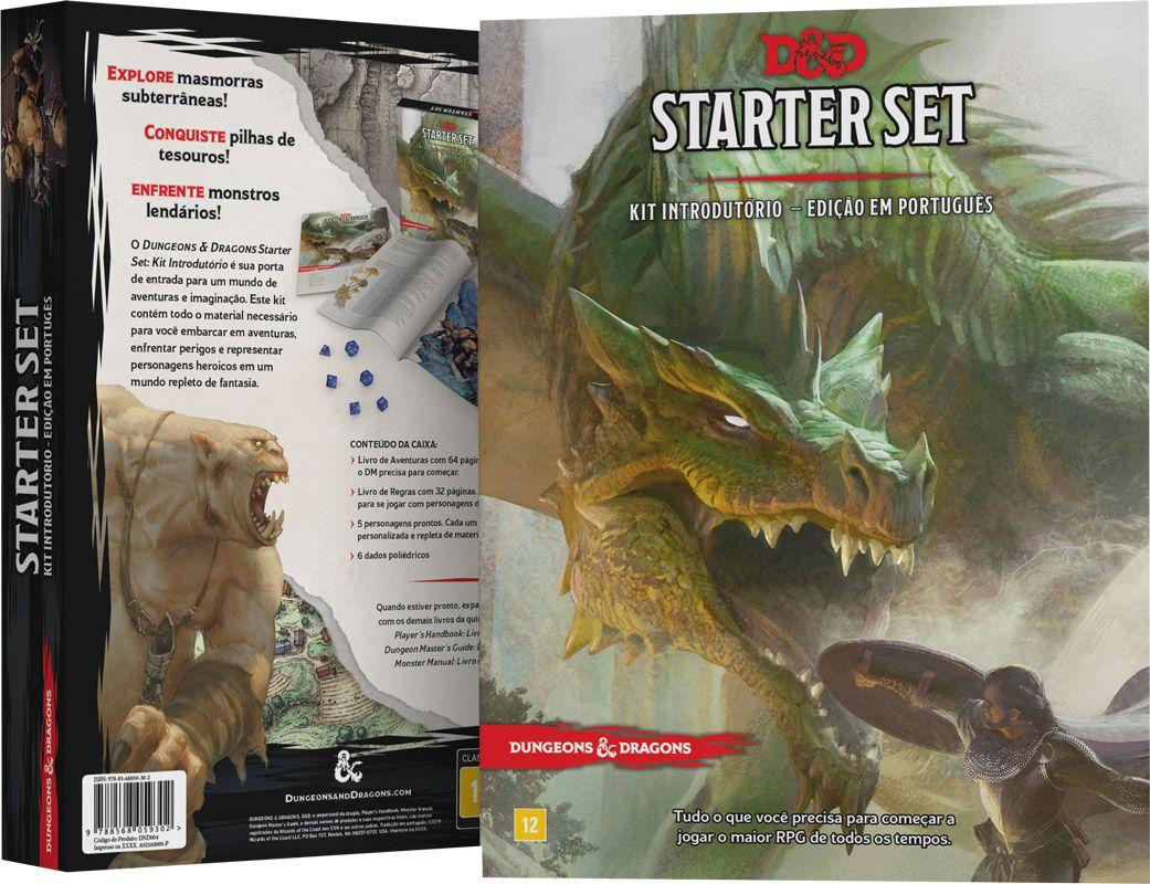Dungeons & Dragons Starter Set - Kit Introdutório