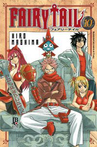 Fairy Tail - Volume 10 - Usado