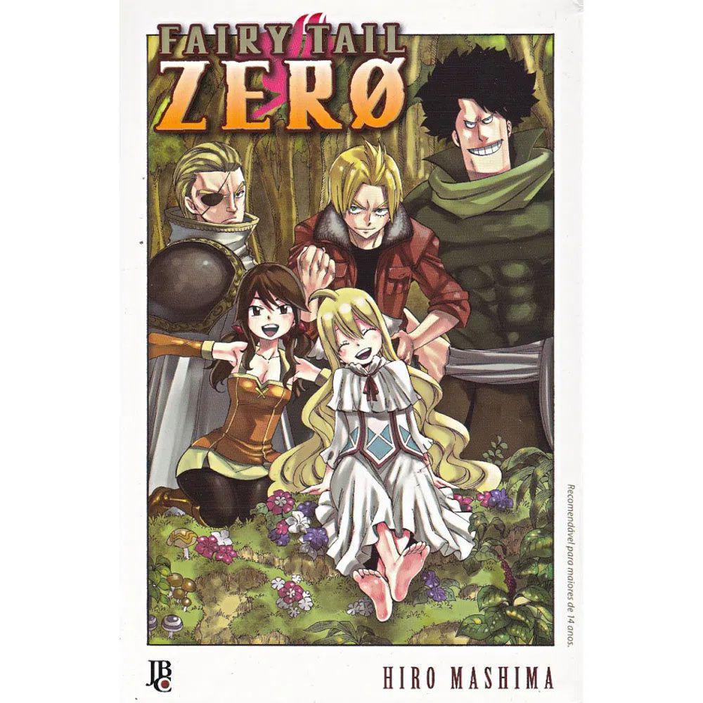 Fairy Tail Zero - Volume Único - Usado