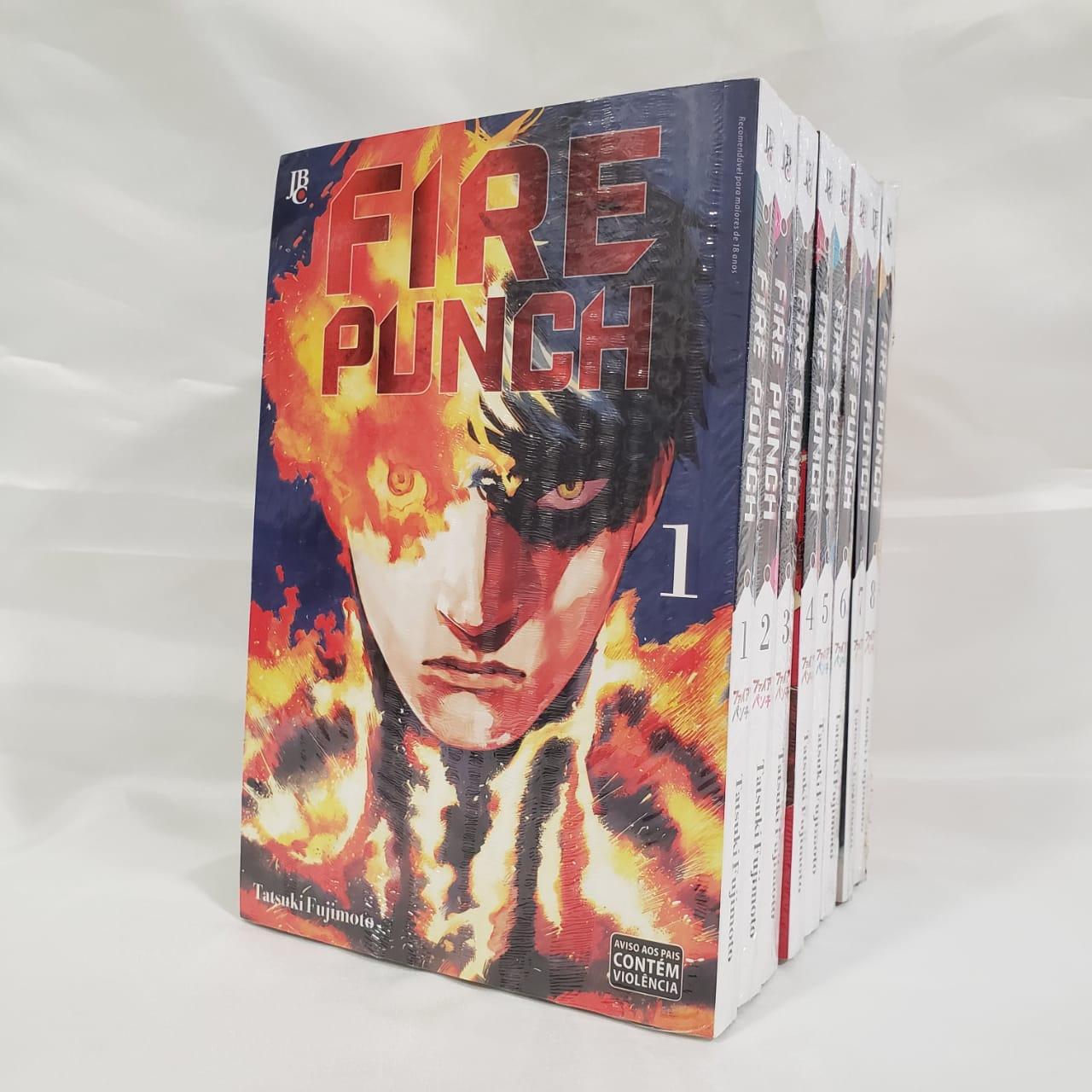 Fire Punch - 1 ao 8 - Coleção Completa
