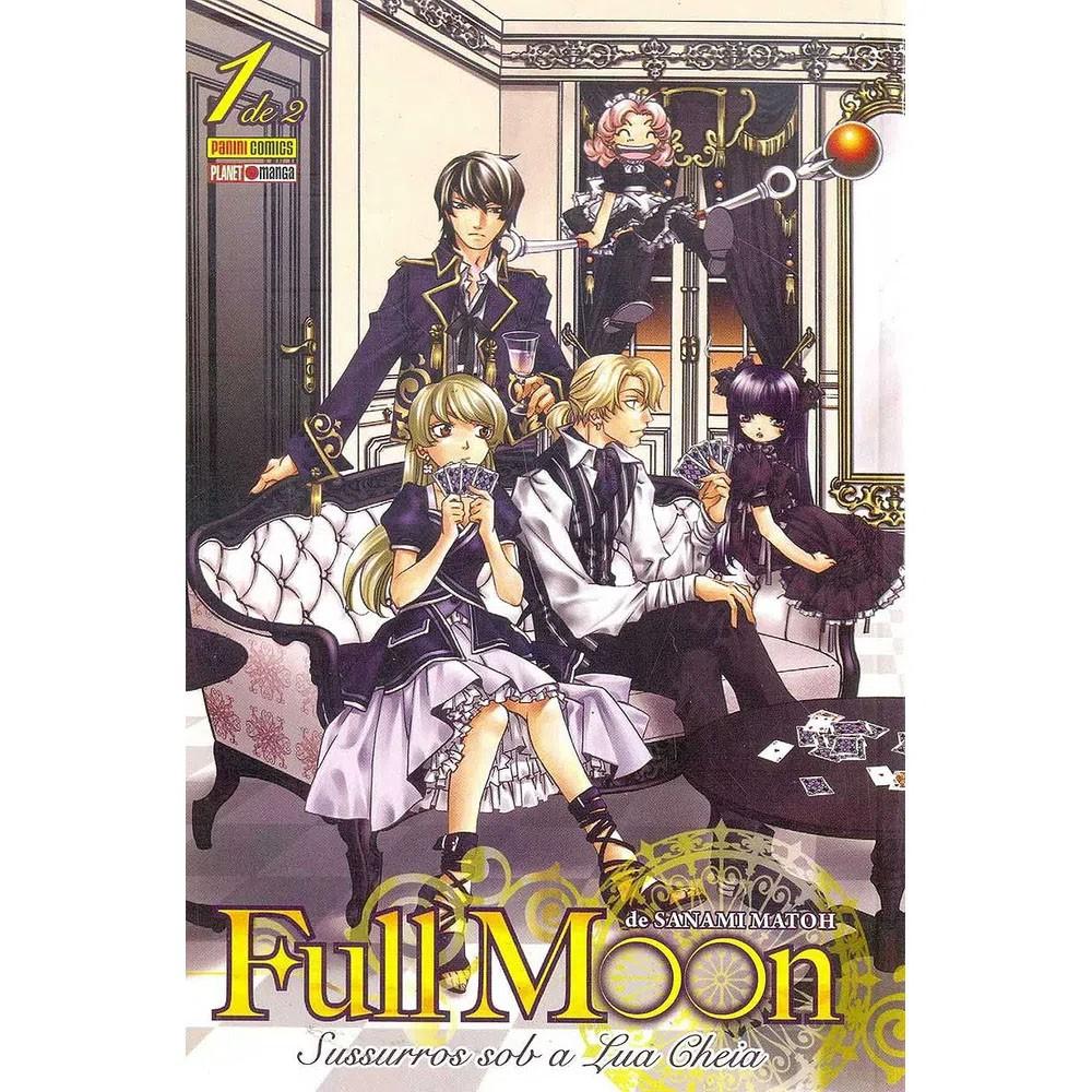 Full Moon Sussuros Sob a Lua Cheia - Volume 01 - Usado