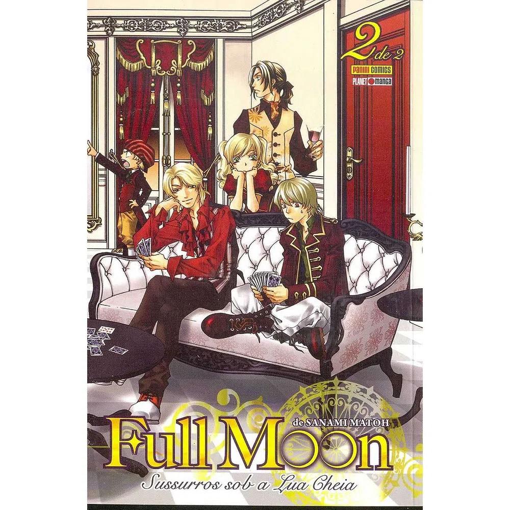 Full Moon Sussuros Sob a Lua Cheia - Volume 02 - Usado
