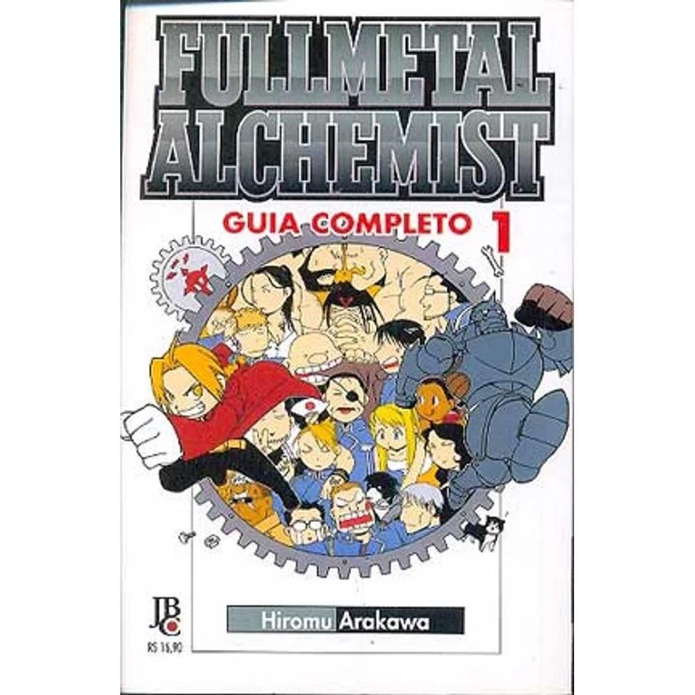 Fullmetal Alchemist 1ª Edição - Guia Completo - Volume 01 - Usado
