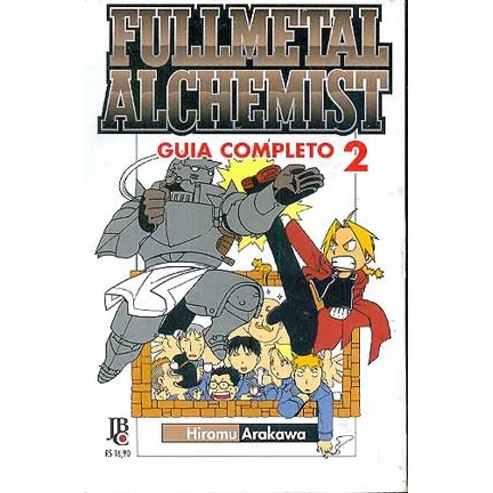 Fullmetal Alchemist 1ª Edição - Guia Completo - Volume 02 - Usado