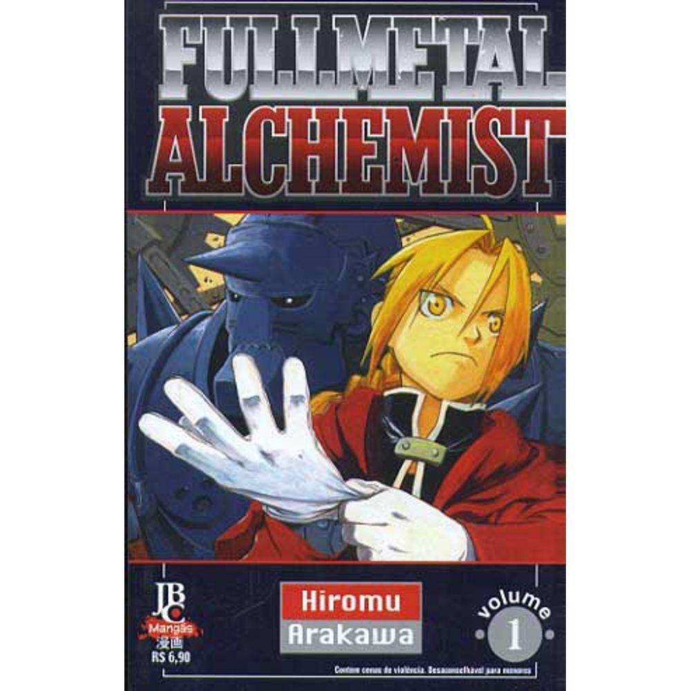 Fullmetal Alchemist - 1ª Edição - Volume 01 - Usado