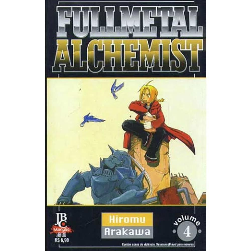 Fullmetal Alchemist - 1ª Edição - Volume 04 - Usado