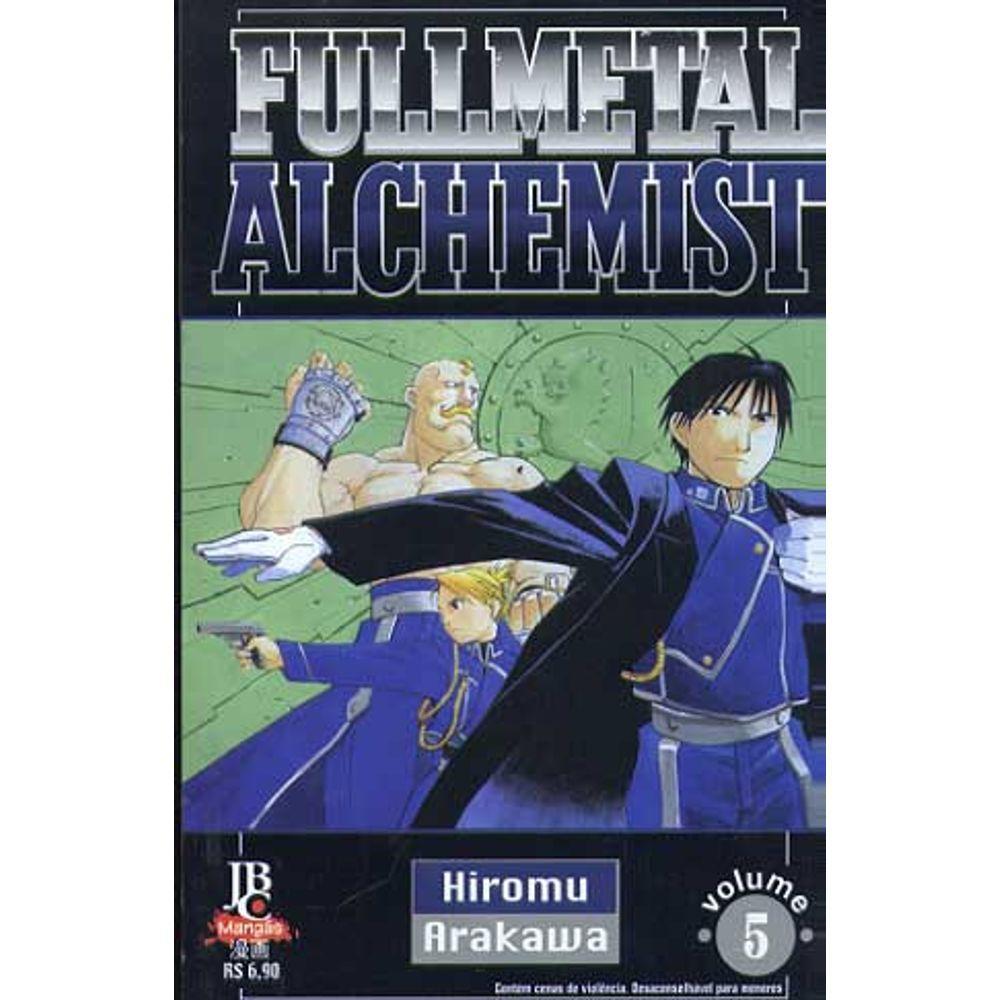 Fullmetal Alchemist - 1ª Edição - Volume 05 - Usado