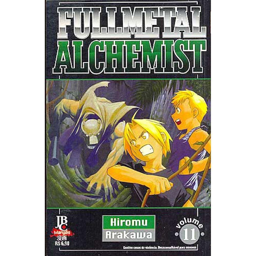 Fullmetal Alchemist - 1ª Edição - Volume 11 - Usado