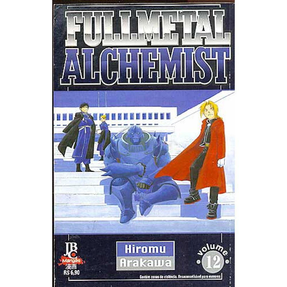 Fullmetal Alchemist - 1ª Edição - Volume 12 - Usado