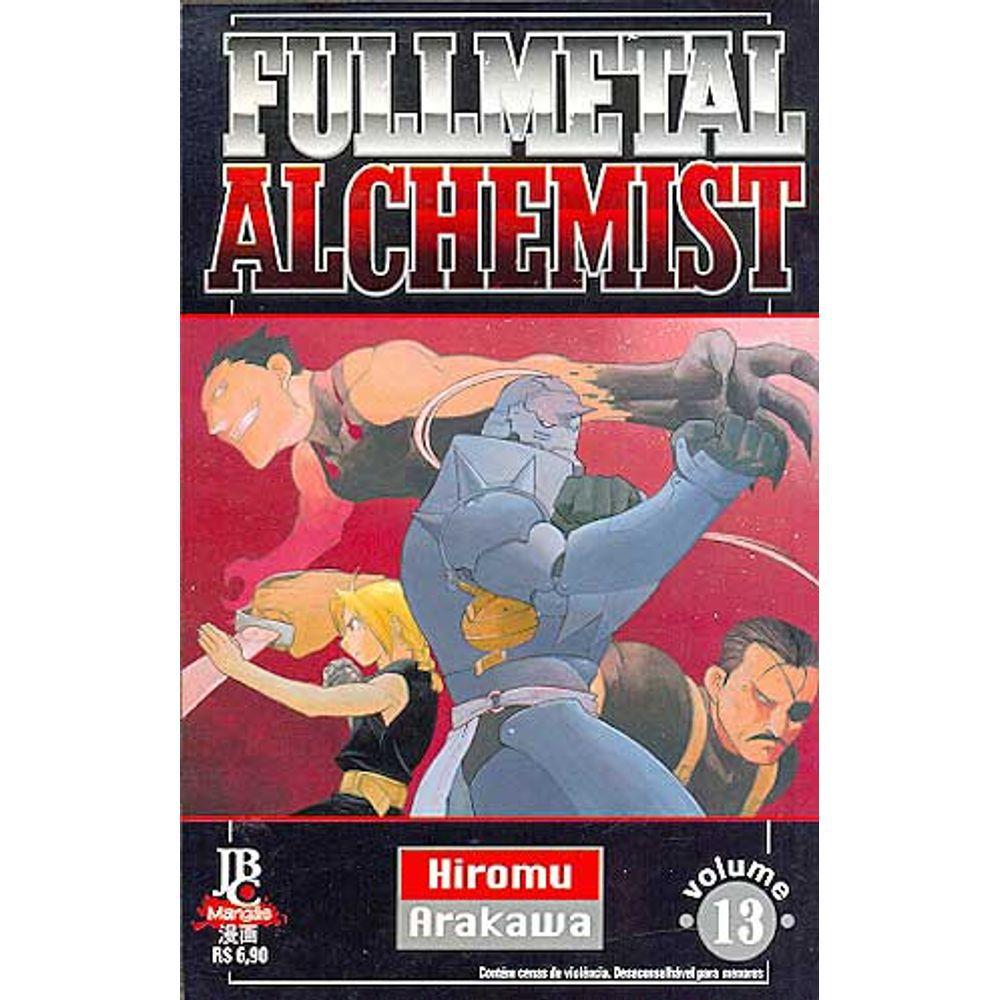 Fullmetal Alchemist - 1ª Edição - Volume 13 - Usado
