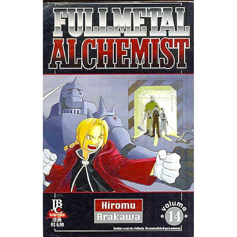 Fullmetal Alchemist - 1ª Edição - Volume 14 - Usado