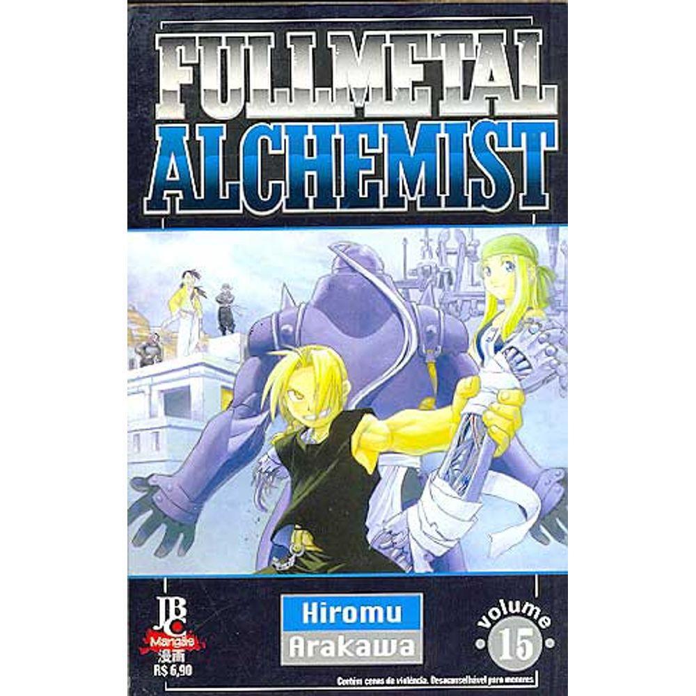 Fullmetal Alchemist - 1ª Edição - Volume 15 - Usado