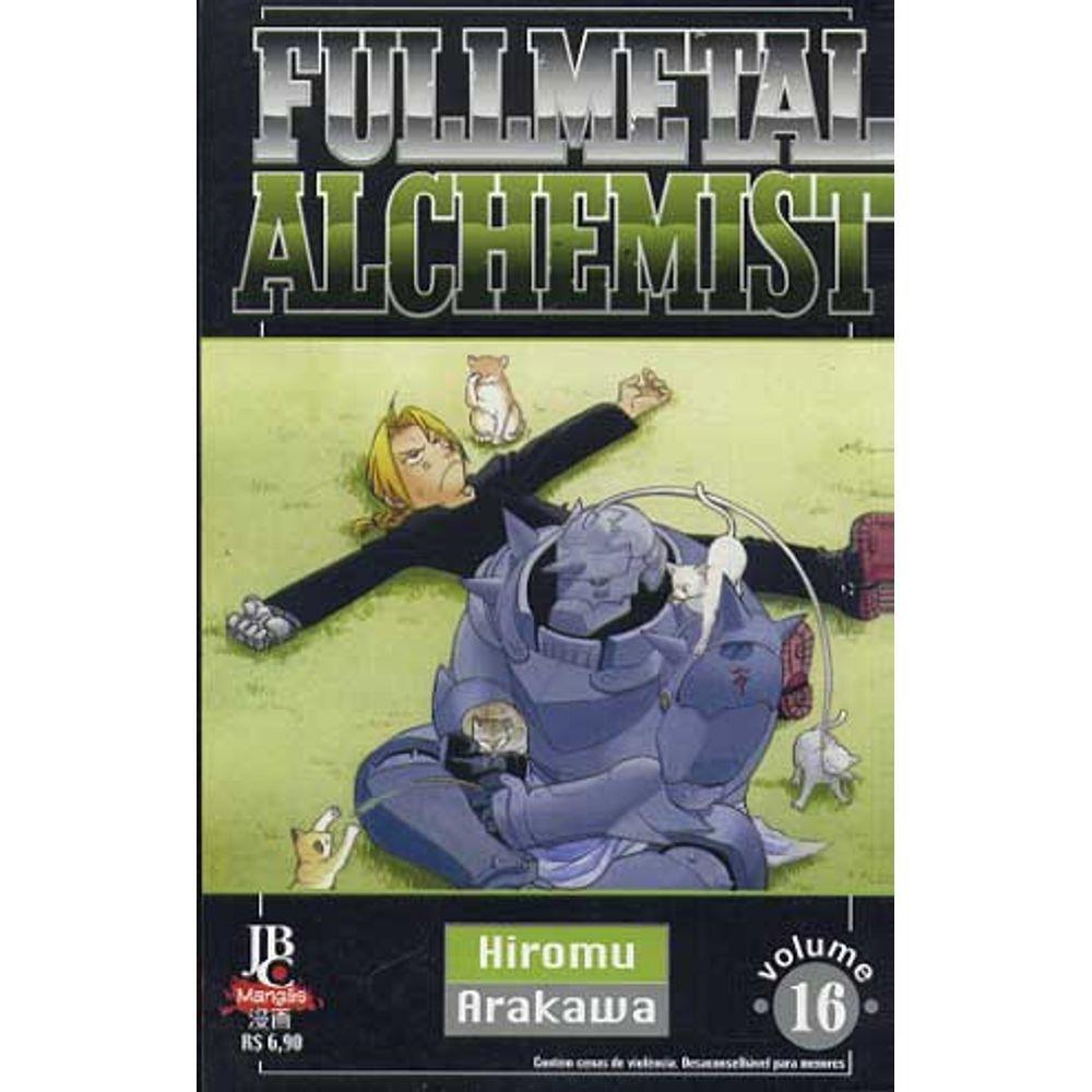 Fullmetal Alchemist - 1ª Edição - Volume 16 - Usado