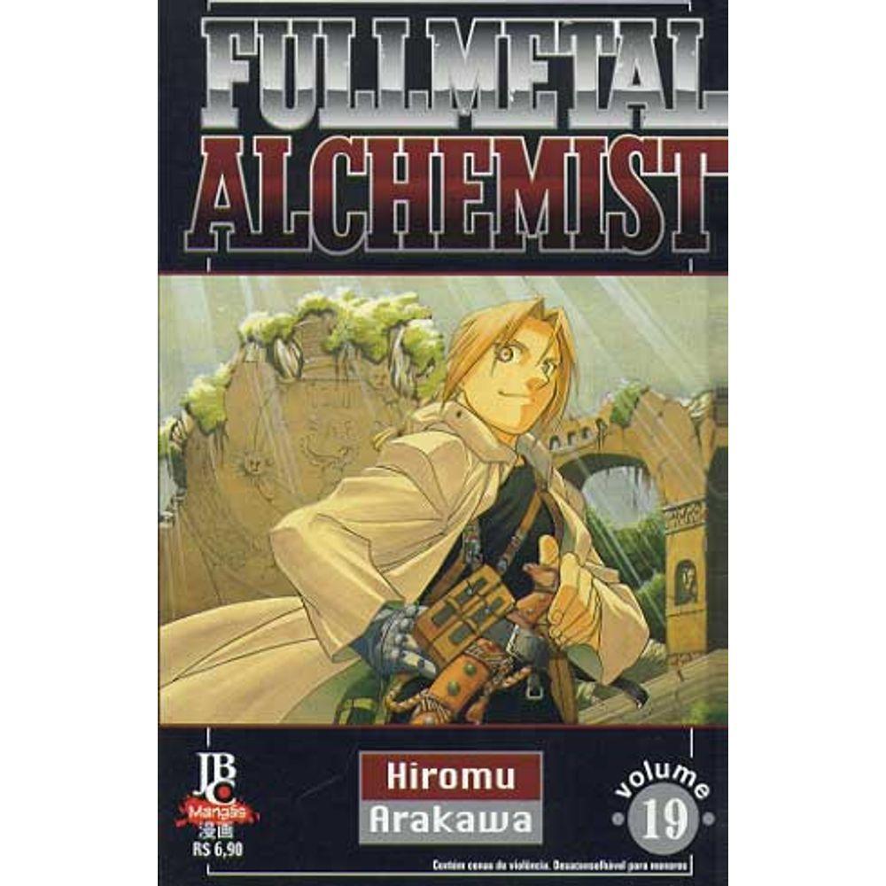 Fullmetal Alchemist - 1ª Edição - Volume 19 - Usado