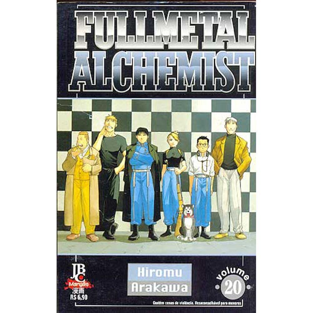 Fullmetal Alchemist - 1ª Edição - Volume 20 - Usado